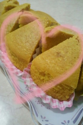 簡単◆かぼちゃのパウンドケーキ(HM)