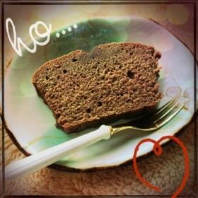 チョコレート・パウンドケーキ