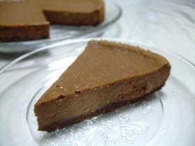 とろける♪チョコベイクドチーズケーキ