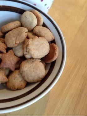 簡単ミルクティーの粉末でサクッとクッキー