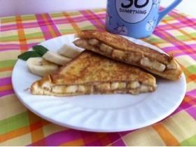 PB&バナナのフレンチトースト