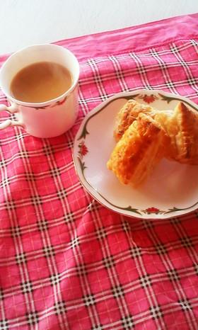 濃厚バターミルクの様なホワイトチョコパイ