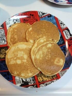 卵・乳不使用!にんじんホットケーキ