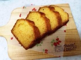 米粉で作るはちみつと卵のパウンドケーキ