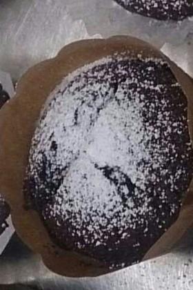 カリふわココアカップケーキ♡
