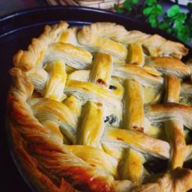 さくさく☆チーズカスタードのアップルパイ