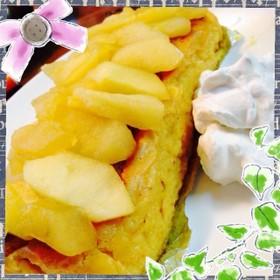 ☆リンゴのチーズケーキ☆