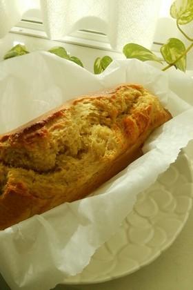 簡単メープルバナナパウンドケーキ