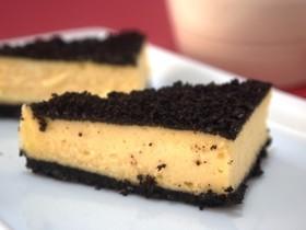超簡単少材料!濃厚オレオチーズケーキバー