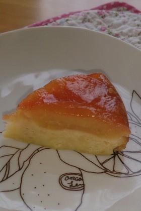 炊飯器&HMで タルトタタン風ケーキ