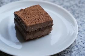 ヘーゼルと穀物コーヒーのローチョコケーキ