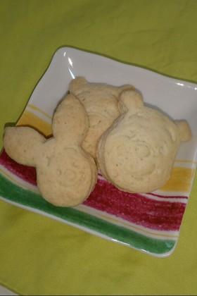 子供と一緒に 型抜きメープルクッキー