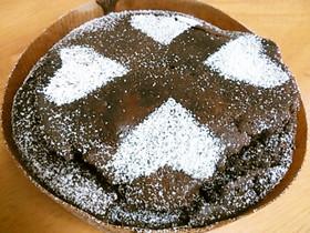 もちもちっ! チョコレートケーキ