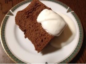 板チョコで簡単チョコレートシフォンケーキ