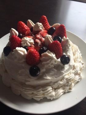 低糖質なスポンジケーキ
