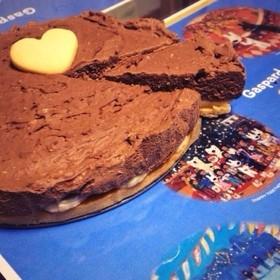 チョコバナナチーズケーキ