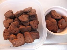 ココアクッキー・オリーブ油使用