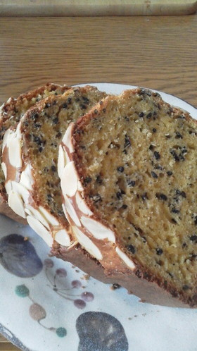 ピーナッツクリームのパウンドケーキ