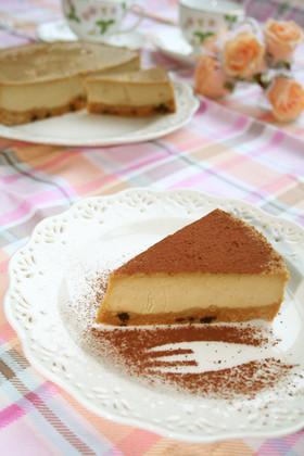 ♡混ぜるだけカプチーノNYチーズケーキ♡