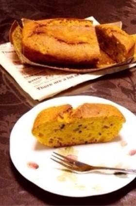 かぼちゃ☆パウンドケーキ