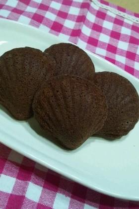 チョコレートマドレーヌ☆