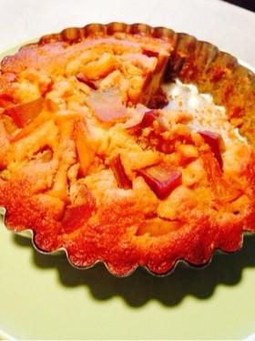 魅惑の簡単カラメルフルーツケーキ