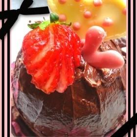 材料3つ♡ミニズコットケーキ♡(ロール)