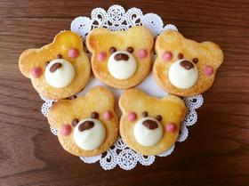 ★☆簡単かわいい くまさんクッキー☆★