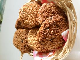 簡単ザクザクグラハムチョコチップクッキー