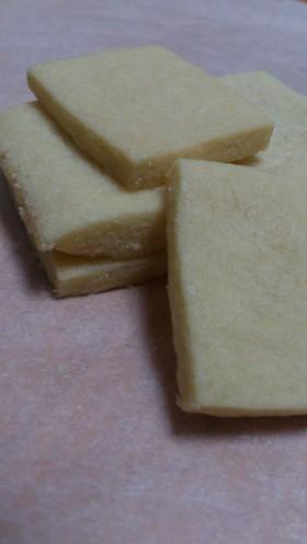 《簡単クッキー》小麦粉・砂糖・バターのみ