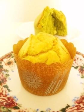 オリーブオイルカップケーキ