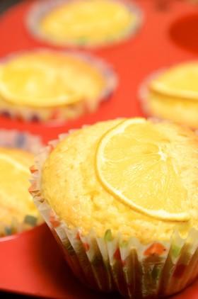 まるごとレモンマフィン