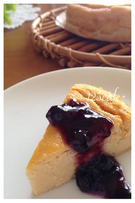 簡単!HMとおからの低カロチーズケーキ☆