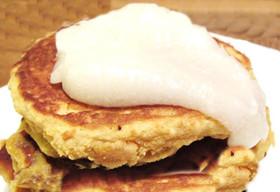リコッタチーズ ココナッツパンケーキ