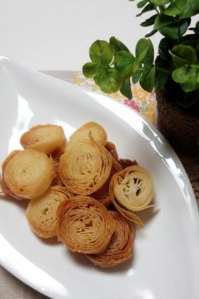 春巻きの皮で作る 簡単シュガーパイ☆