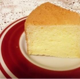 ふわふわ*バターシフォンケーキ