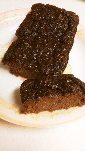 生おからのガトーショコラ風パウンドケーキ