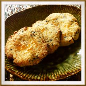乳・卵・小麦粉不使用♪超簡単米粉クッキー