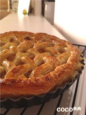 キャラメル林檎のアップルパイ
