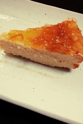 簡単 フープロで混ぜるだけ☆チーズケーキ