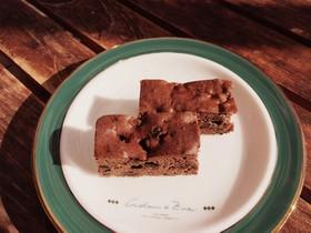 ラムレーズンのチョコレートケーキ