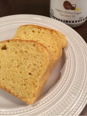 ココナッツオイルで☆パウンドケーキ