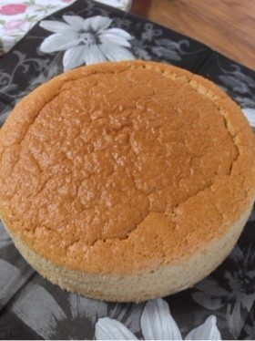米粉のふわふわスポンジケーキ