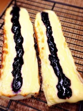 チーズケーキバゲット