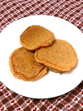 離乳食☆トマトジュースと豆腐のパンケーキ