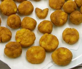 サツマイモと米粉のドーナツ