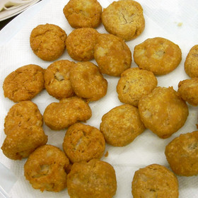 レンコンと米粉のドーナツ