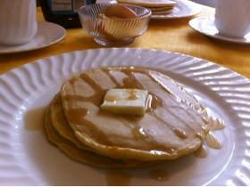 小麦粉から作るパンケーキ 2