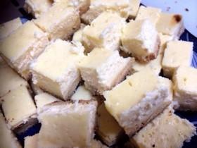 フライパンでチーズケーキ☆