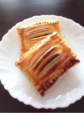 ♡簡単♡スイートポテトと甘納豆パイ